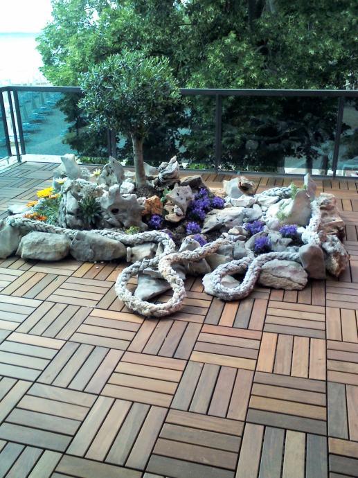 Uređenje okućnica i vrtova te krovnih terasa