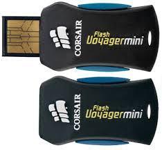 USB 8GB - Corsair Flash Voyager mini - NOVO