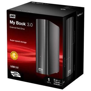 WD MyBook 3.0 2TB WesternDigital