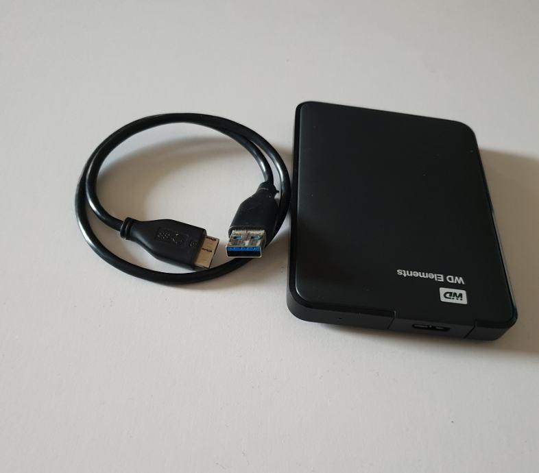Western Digital WD Elements USB 3.0 500GB