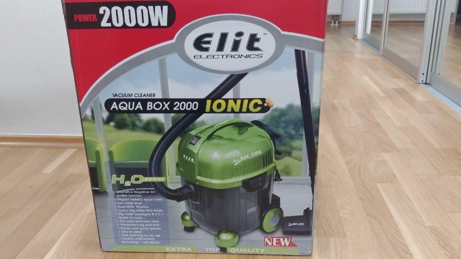 Usisavač na vodu ELIT ELECTRONICS AQUA BOX 2000 IONIC
