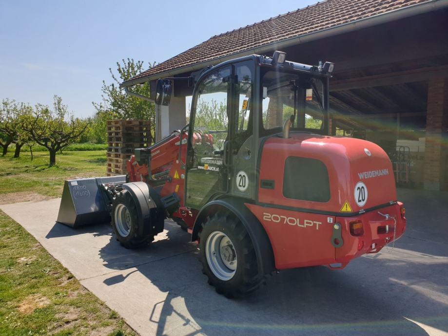 Weidemann 2070 cx50 LPT