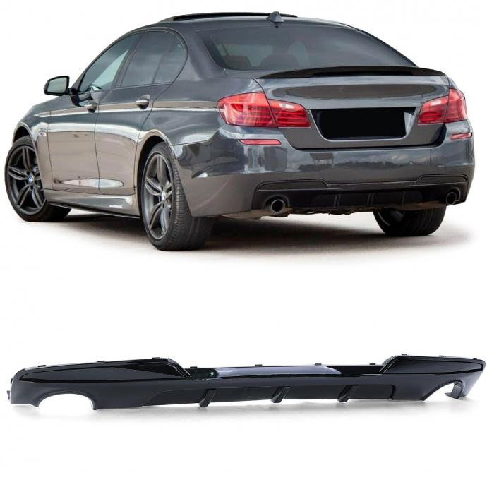 BMW 5 F10 F11 2010-16 difuzor spojler branika M performance 535i piano