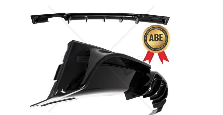 BMW F30 F31 328-330 M-Performance difuzor piano crni TUV certifikat