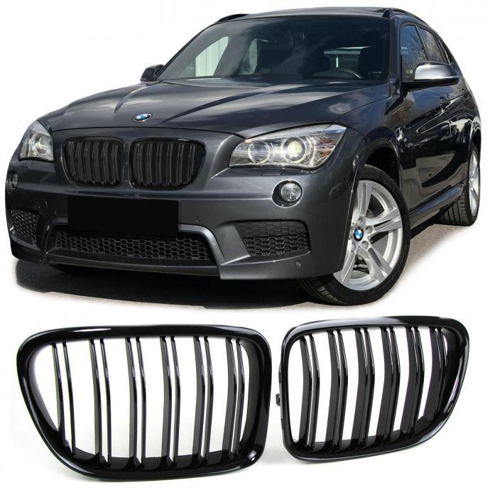 BMW X1 E84 2009 - 2015 MASKA BUBREZI CRNI SJAJNI