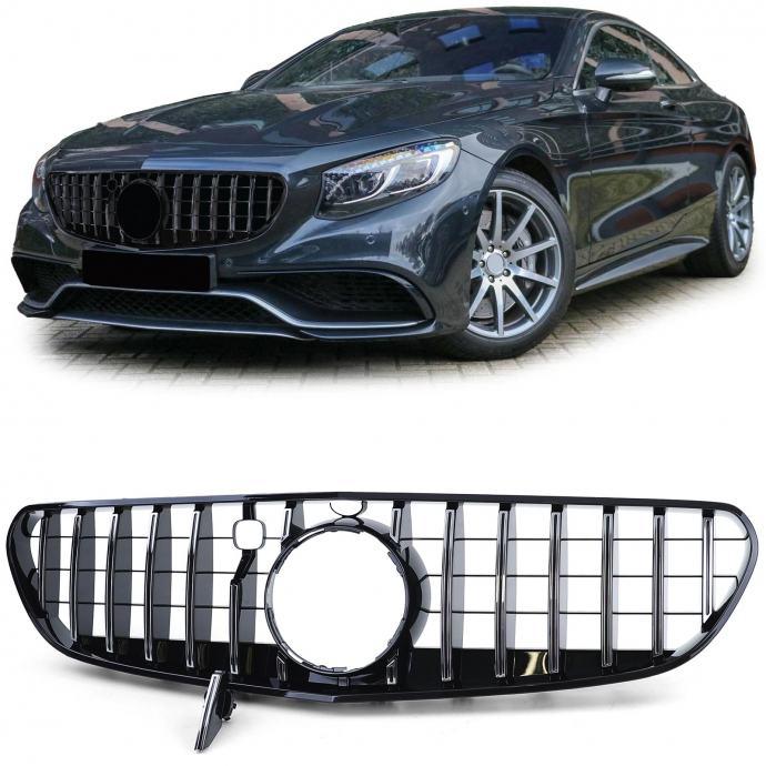 Mercedes S63 Coupe C217 Cabrio A217 2014-2017 AMG maska grill chrome