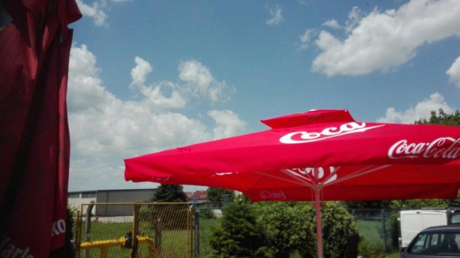 Ugostiteljski suncobran  Coca Cola 3'5-3 5 met