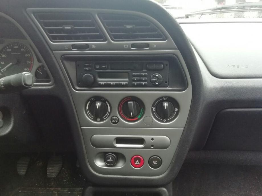 Peugeot 306 komande ventilacije