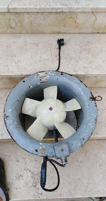 Ventilator - jednofazni motor