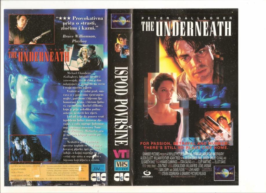 FILM - ISPOD POVRŠINE - VHS