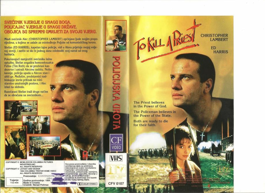 FILM - POLICIJSKA UROTA - VHS