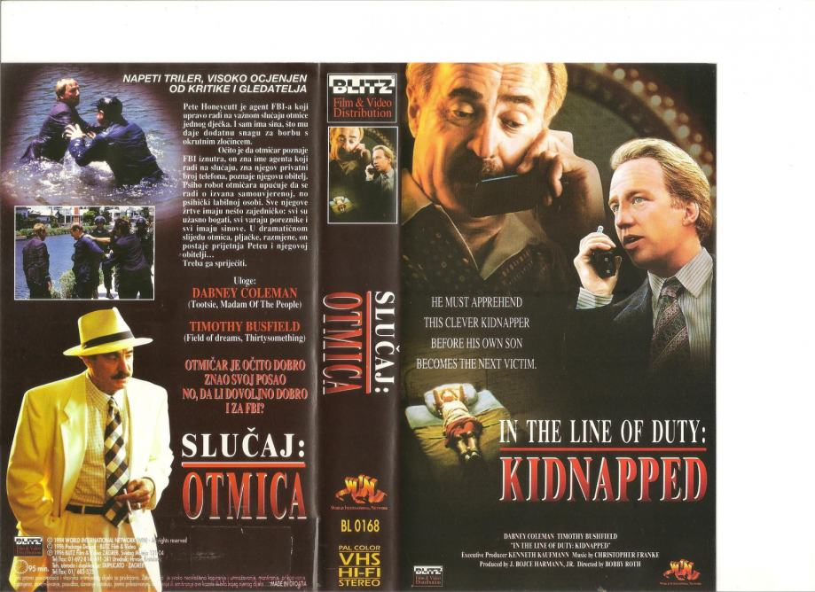 FILM - SLUČAJ: OTMICA - VHS