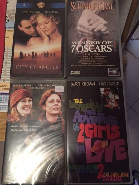 VHS kazete - Filmovi