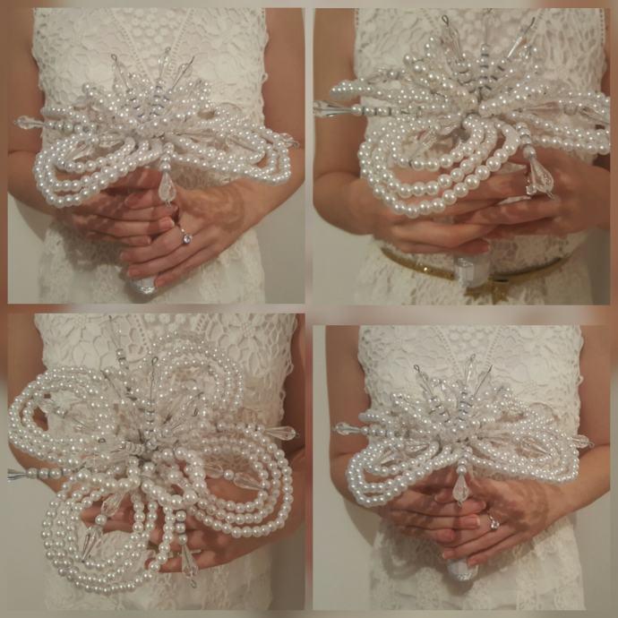 Vjenčani BUKET Forever pearl - unikat