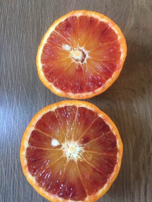 Čips od crvene naranče