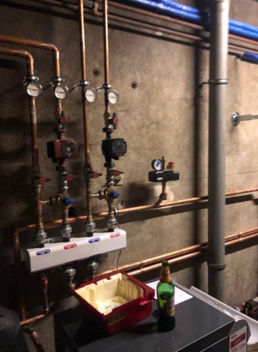 Instalacije centralnog grijanja, vode, klimatizacija