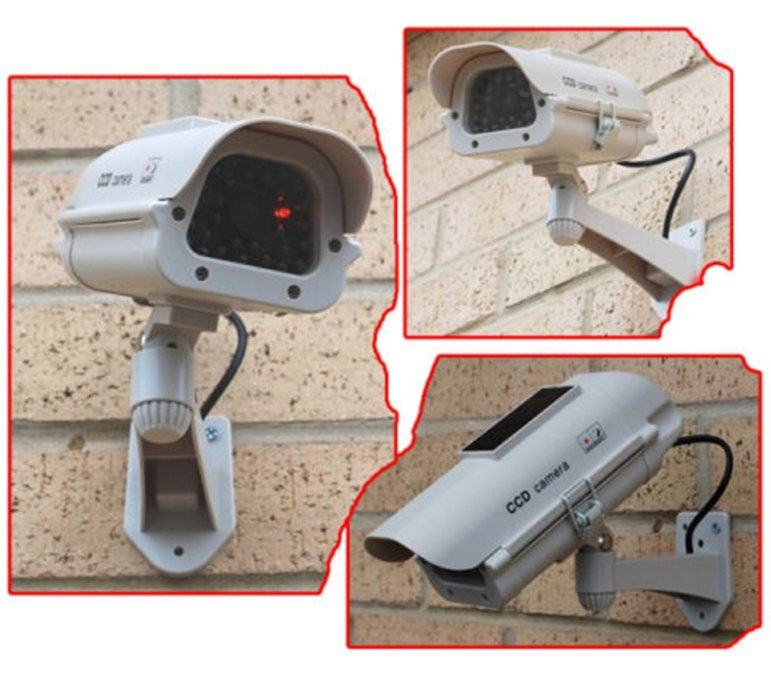 New Solar Powered CCTV Fake IR Camera 15-CDM15