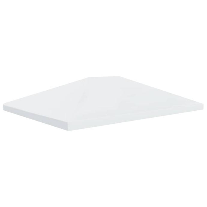 Pokrov za sjenicu 310 g/m² 4 x 3 m krem-bijeli - NOVO