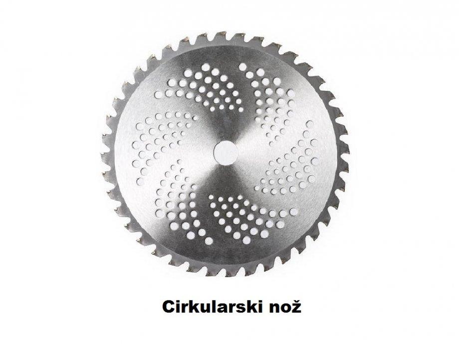 Cirkular nož s vidija vrhovima za trimer / flaksericu