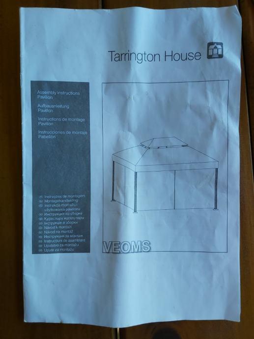 Vrtni paviljon Terrington house