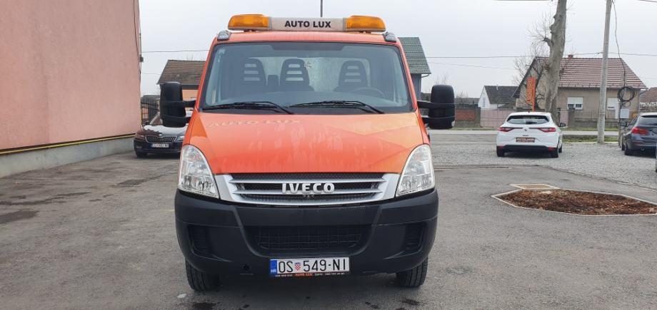Iveco 50C15 • Šlepa • 3,5t • Navoz CO.ME.AR • Reg 12/20 • 13000 €+PDV, 2008 god.