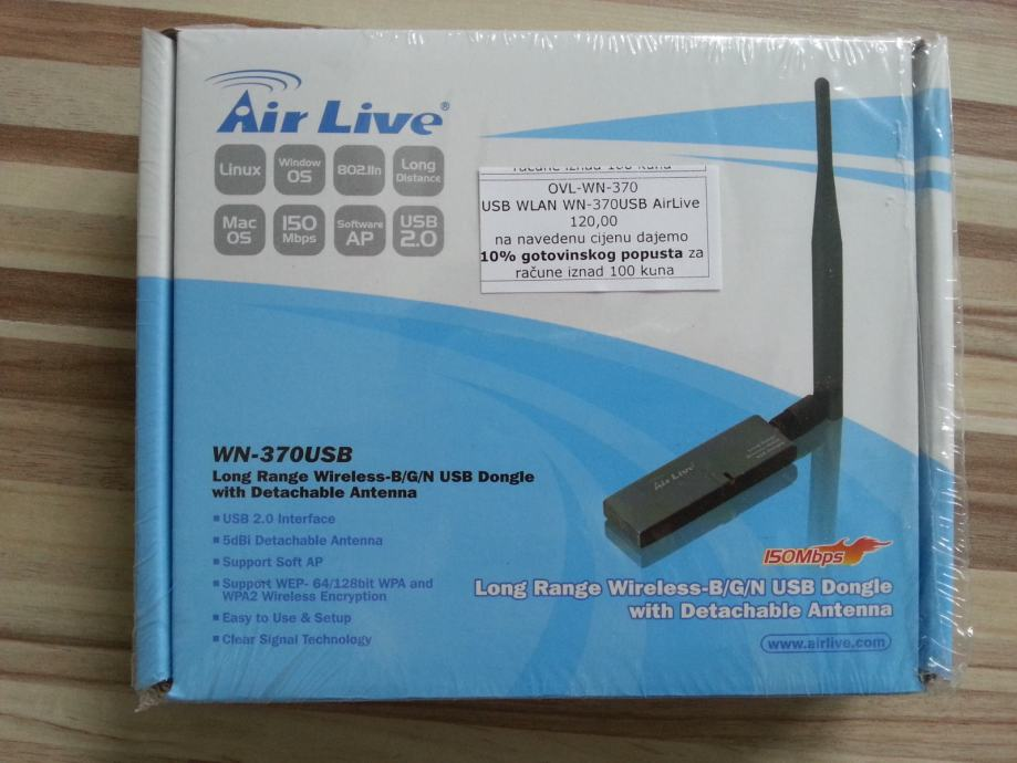 AirLive WTPCI Drivers Download for Windows 10 7 8/ Vista (64/32 bits)