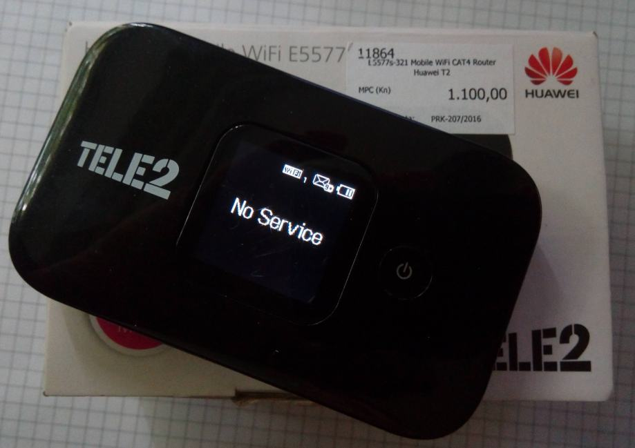 Mobile WiFi CAT4 Router Huawei T2