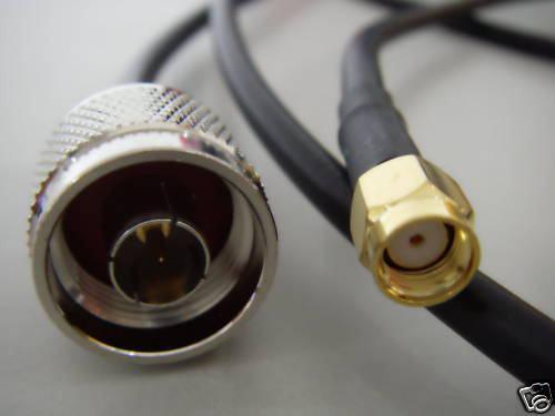 N-Type Male - RP-SMA Pigtail kabel N type konektor