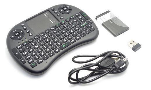 Tipkovnica bežična Mini AIRMOUSE i8 za PC,laptop,tablet,android,SMART