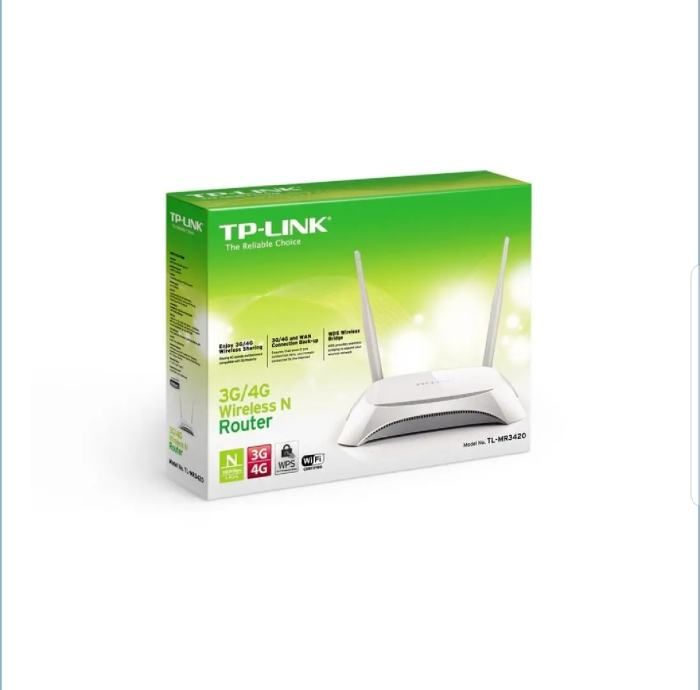 TP-LINK TL-MR3420, 3G/4G WIRELESS N ROUTER