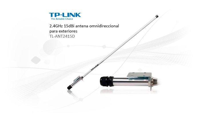 TP-Link vanjska omni-direkciona antena 15dBi TL-ANT2415D