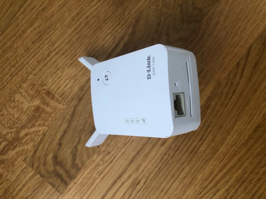 Wifi extender, proširenje bežićne mreže, D-Link DAP 1330