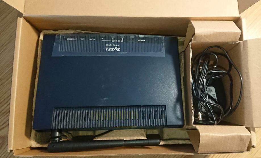 Router ZyXEL P-660HW-D3