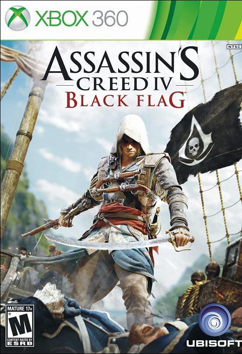 ASSASSINS CREED BLACK FLAG, XBOX 360, NOVO RAČUN!