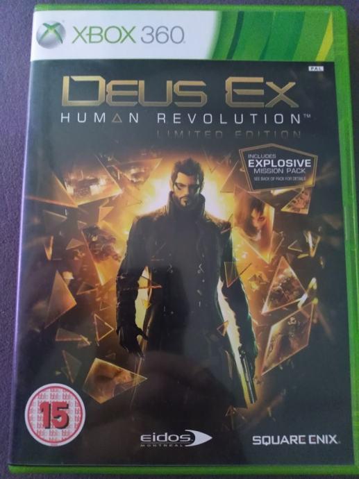 Deus ex xbox360