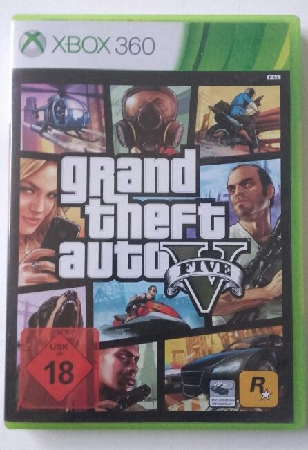 GTA 5 XBOX 360 (Grand Theft Auto V)