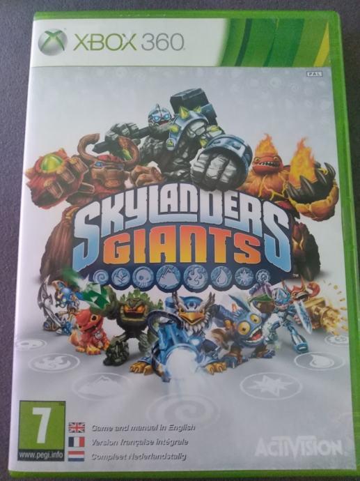 Skylanders giants xbox360