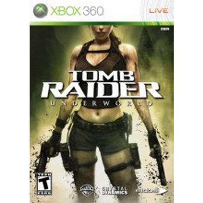 Tomb Raider Underworld (Xbox 360 - korišteno)