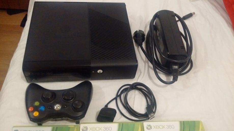 Xbox 360 Ultra Slim Elite -GTA 5 - Crysis 2 - Alien CM
