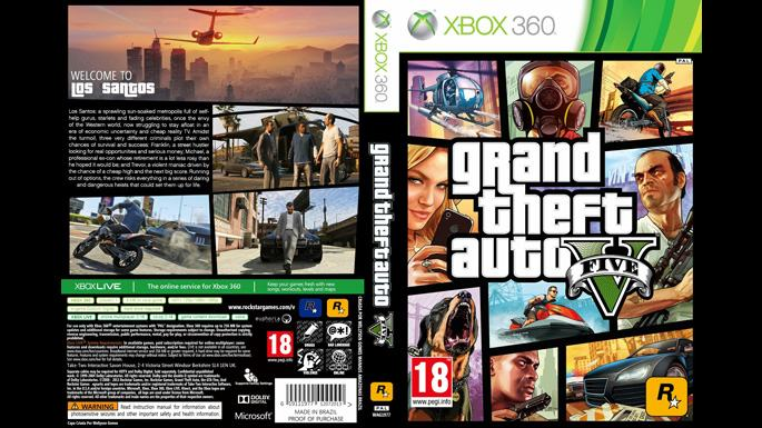 original gta 5 xbox 360. Black Bedroom Furniture Sets. Home Design Ideas