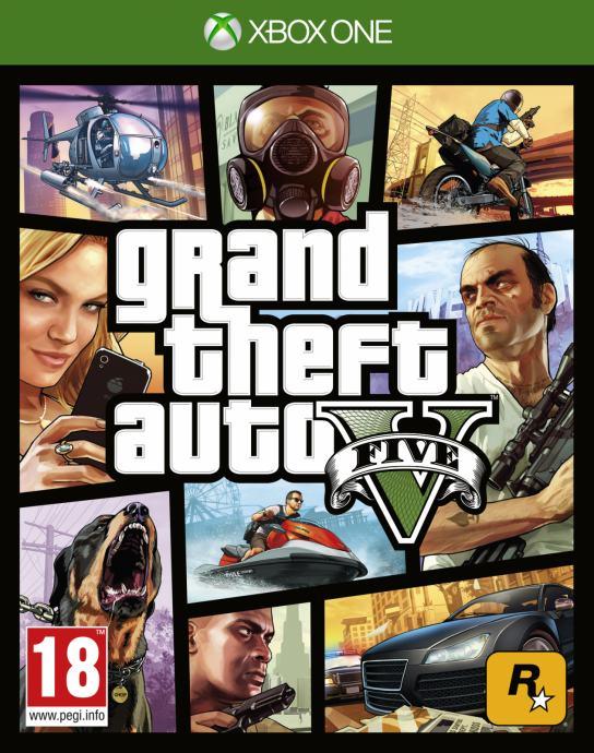 Grand Theft Auto V (Xbox One - Korišteno)