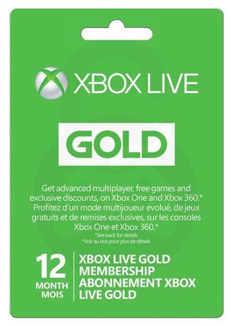 Xbox Live Gold EU,12.mjesečno internet članstvo,TRGOVINA,NOVO!