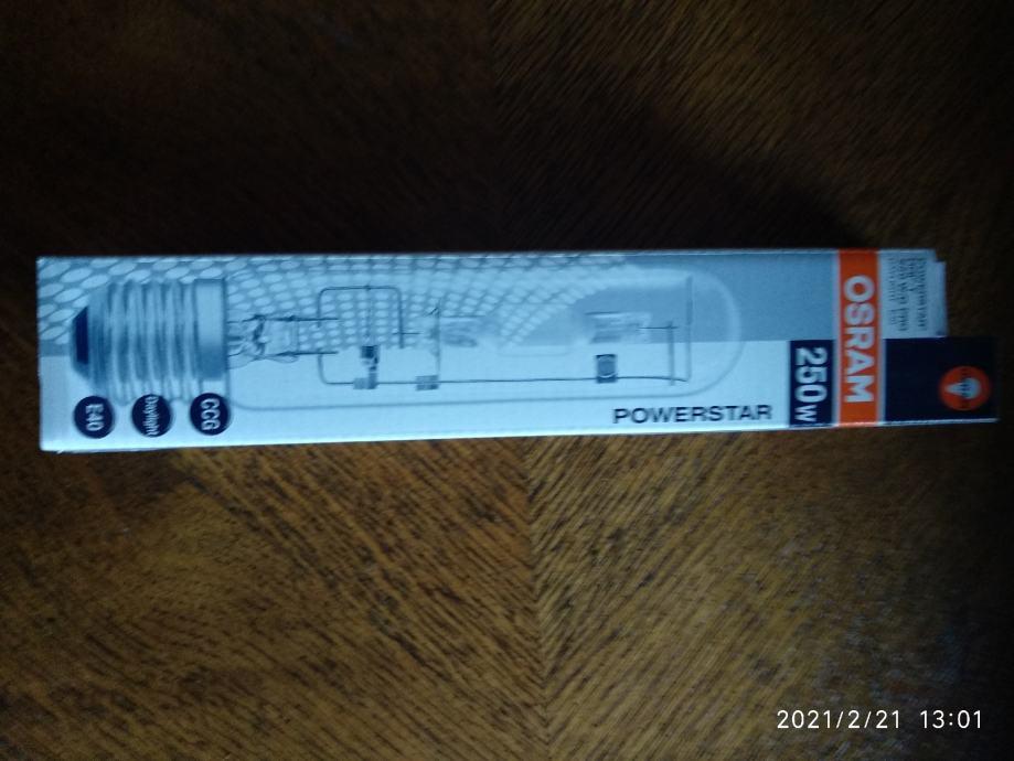 Halogena žarulja Osram 250 W