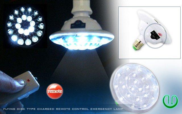 LED žarulja s punjivom baterijom i daljinskim upravljačem! (standardno