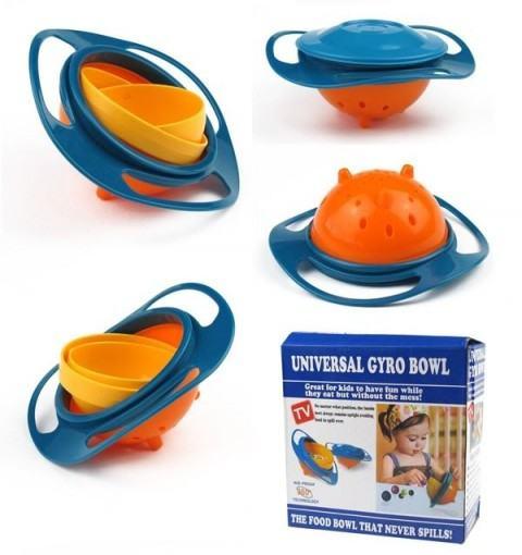 Gyro Bowl- dječja posuda za hranu u kojoj sadržaj uvijek ostaje u njoj