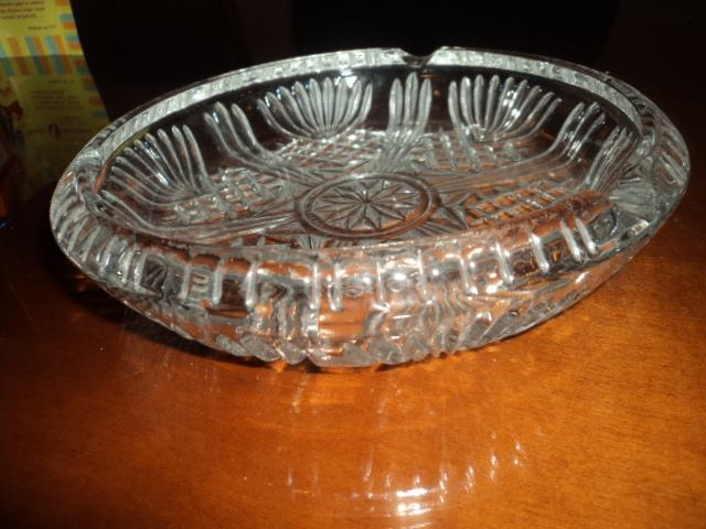 Pepeljara kristalna ili Kristalna zdjela, Rogaška, fi 20cm