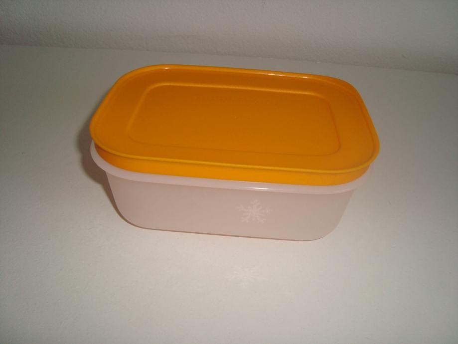 Tupperware set 4 malih niskih spremnika za zamrzivač 450 ml