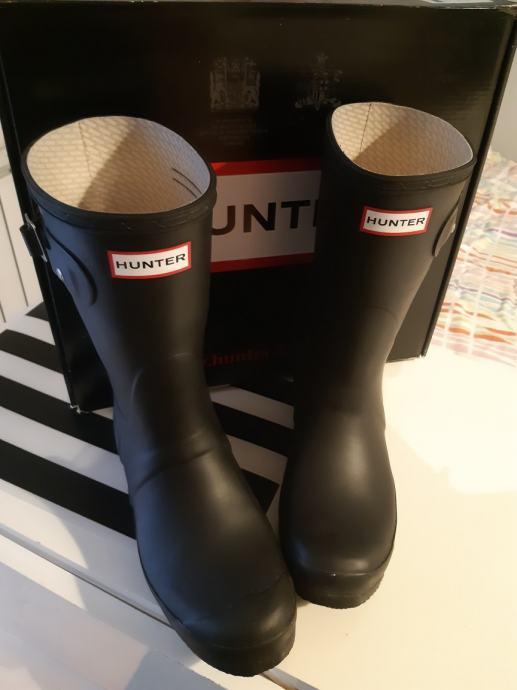 Hunter čizme niže 2x nošene veličina 39