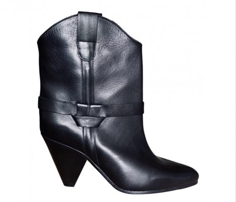 Isabel Marant NOVE crne kožne čizme br.39