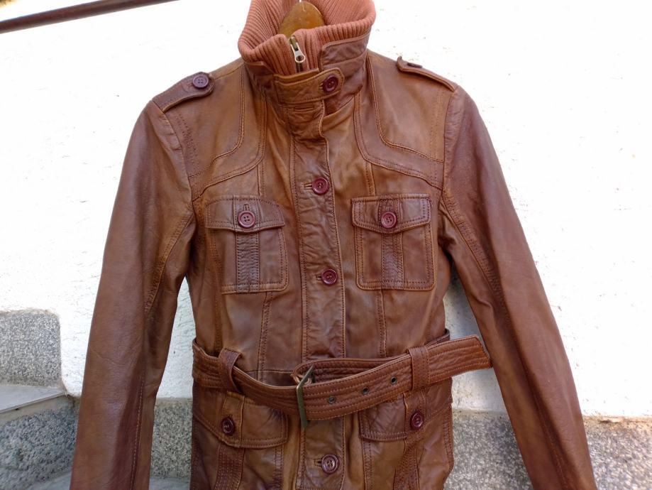 Philip Russel ženska urbana kratka  kožna jakna EUR veličina M